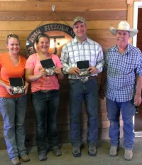 Team Penning Winners! Spring-Summer 2013